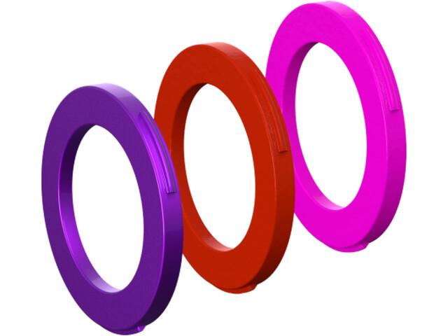 Magura Kit d'oeillets 4 pignons Clé pour frein à partir de 2015, purple/red/neon pink